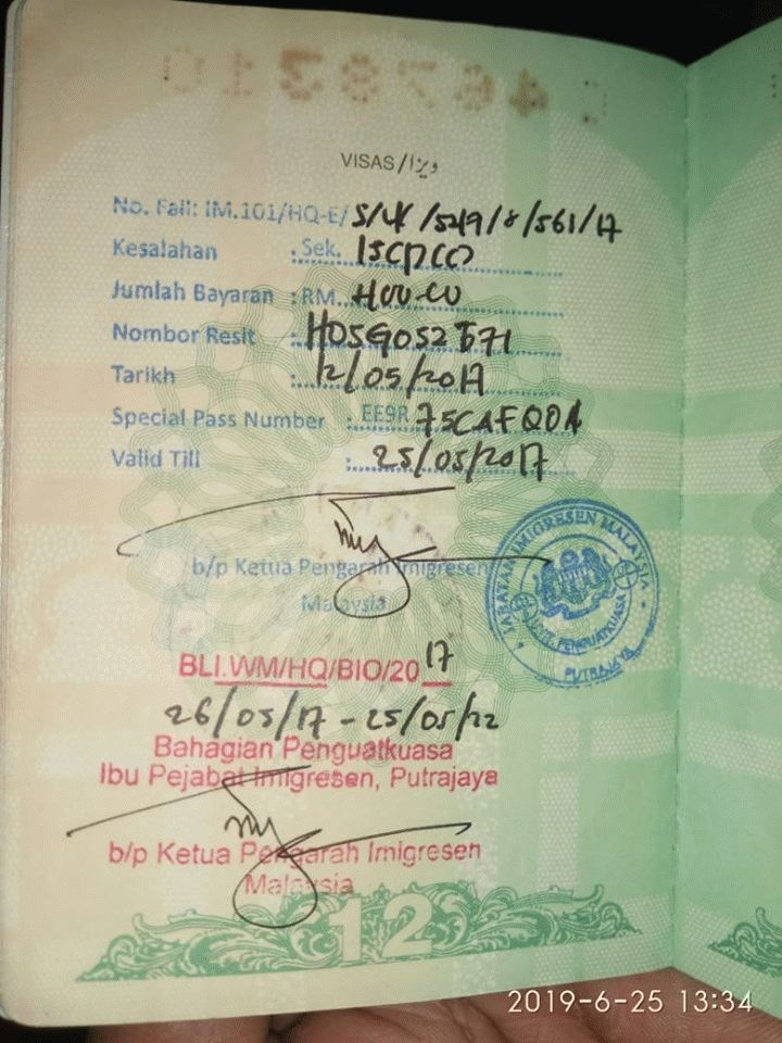 Malaysian Foreign Spouse Overstay In Malaysia And Cheated By Agent Lawyerment Answers