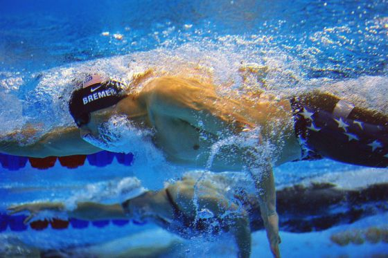 How long does it take to get a swimmer's body?