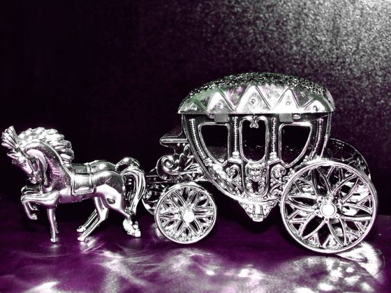 Silver Carriage or Coach