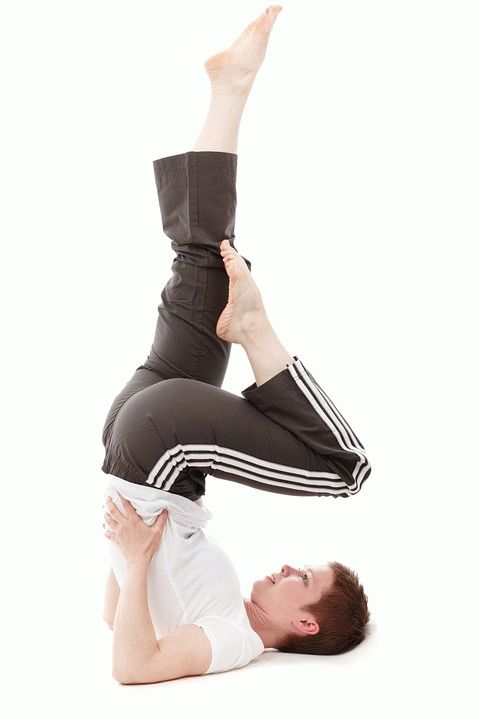 Yoga Pose for Hair Loss