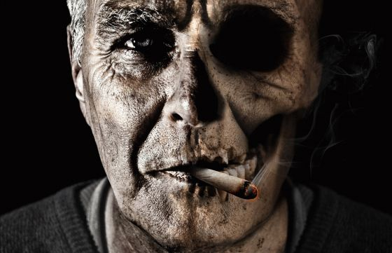 Smoking is unhealthy and causes gum disease and tooth loss