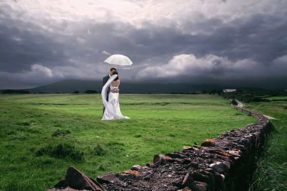 If you are having an outdoor wedding, consider the weather conditions and costs involved
