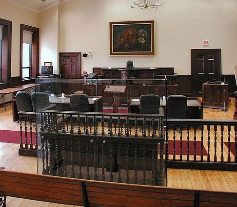 Courtroom and Dock