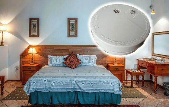 Smoke Detector in Bedroom