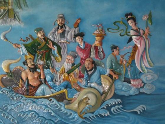 Eight Immortals or Ba Xian