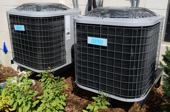 Outdoor Air Conditioner Coil
