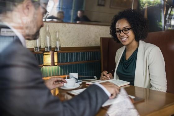 Business Lunch: Steering Conversation Toward Work