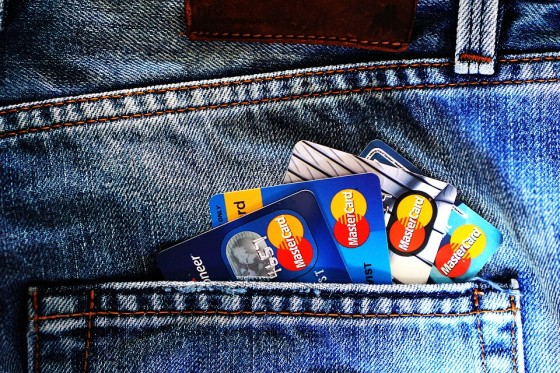 Never Carry With In Your Wallet or Purse - Extra credit cards