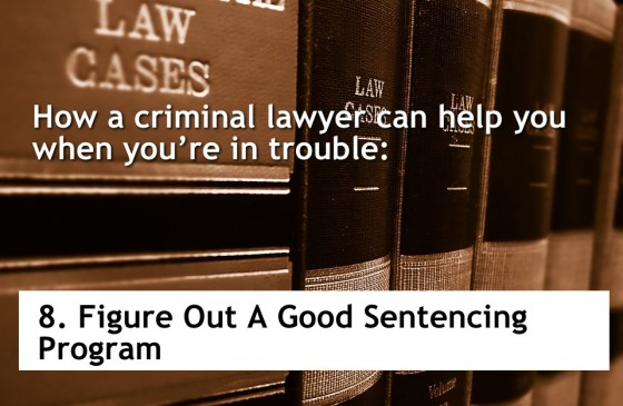 Figure Out A Good Sentencing Program