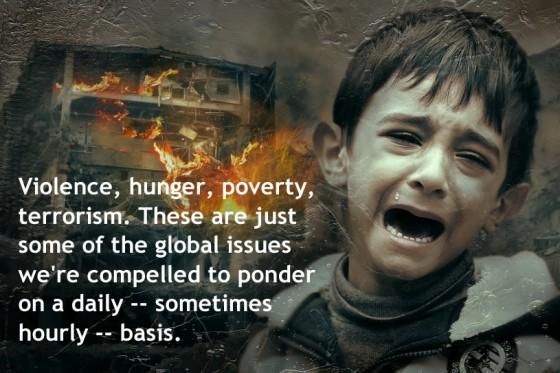 Violence, Poverty, Terrorism