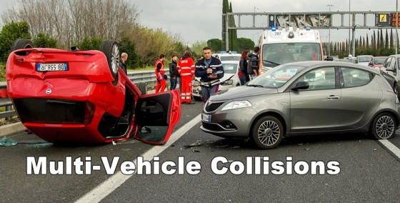 Car Accident Types: Multi-Vehicle Collisions