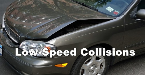 Car Accident Types: Low-Speed Collisions