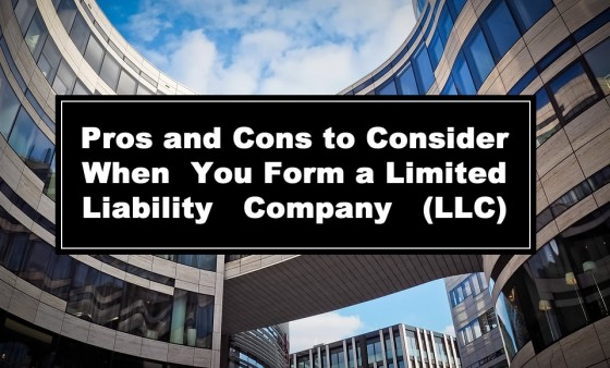 Pros and Cons to Consider When You Form a Limited Liability Company - LLC