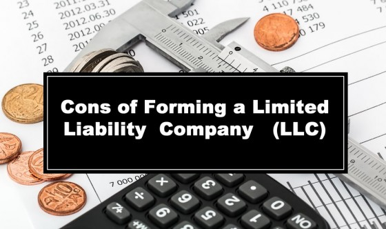 Cons of Forming a Limited Liability Company - LLC