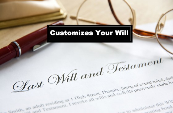 Customizes Your Will
