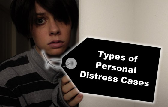 Types of Personal Distress Cases