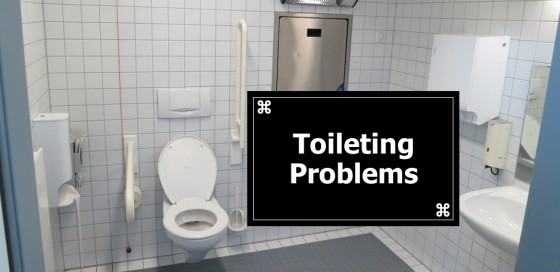 Signs of Bad Care: Toileting Problems
