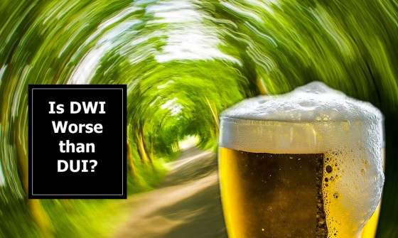 Is DWI (Driving While Intoxicated) Worse than DUI (Drinking Under the Influence)
