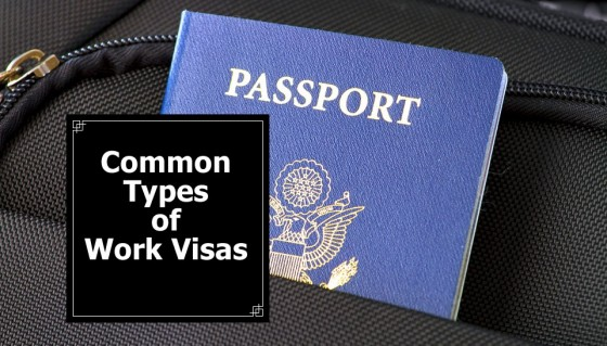 Common Types of Work Visas