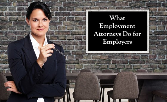What Employment Attorneys Do for Employers