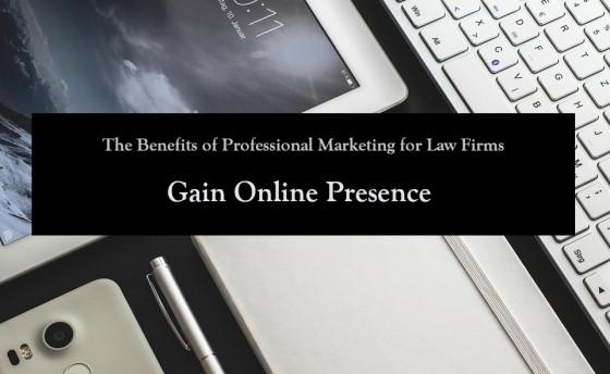 Gain Online Presence