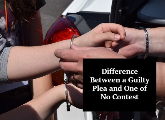 Difference Between a Guilty Plea and One of No Contest