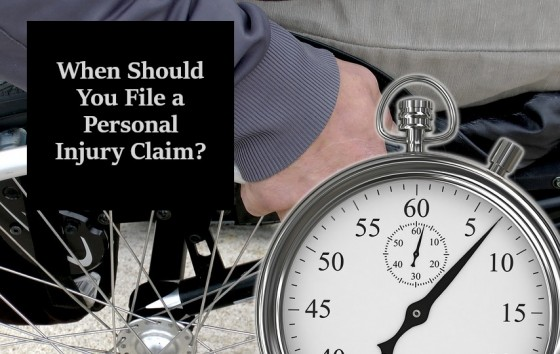When Should You File a Personal Injury Claim