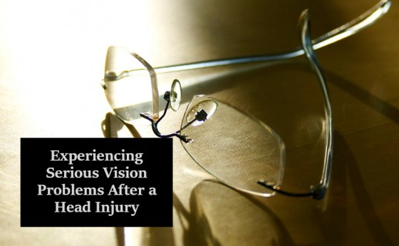Experiencing Serious Vision Problems After a Head Injury