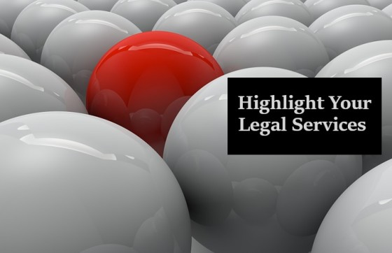 Highlight Your Legal Services