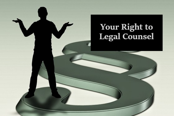Your Right to Legal Counsel