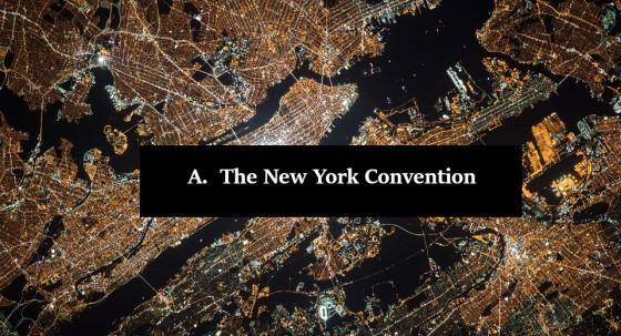 The New York Convention