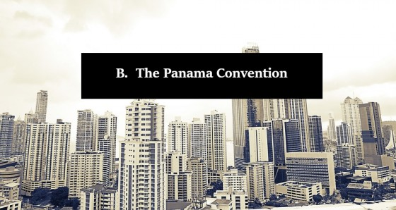The Panama Convention