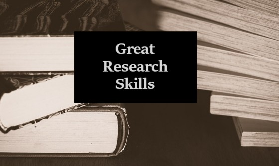 Great Research Skills