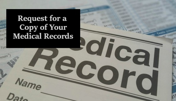 Request for a Copy of Your Medical Records