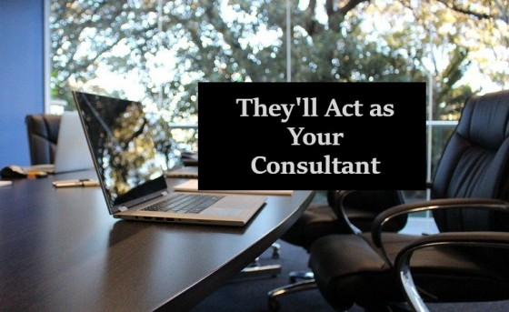 They Will Act as Your Consultant