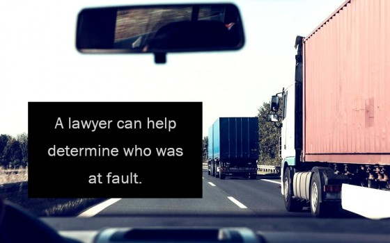 A lawyer can help determine who was at fault