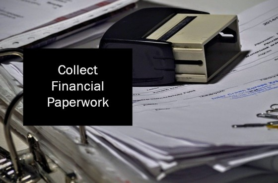 Collect Financial Paperwork