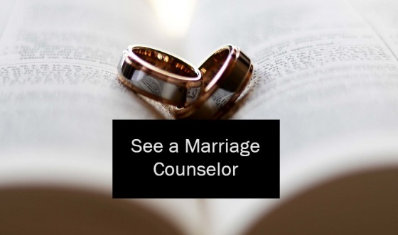 See a Marriage Counselor