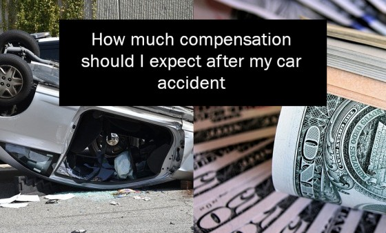 How much compensation should I expect after my car accident
