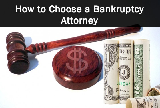 How to Choose a Bankruptcy Attorney