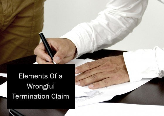 Elements Of a Wrongful Termination Claim