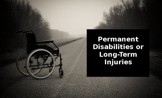 Permanent disabilities or long-term injuries