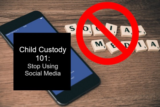 Child Custody 101: Stop Using Social Media
