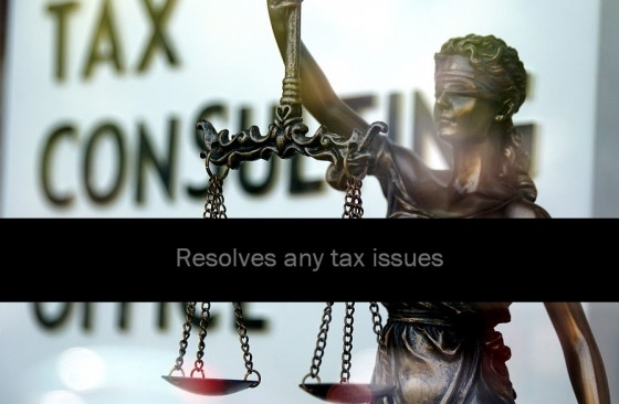 Resolves any tax issues