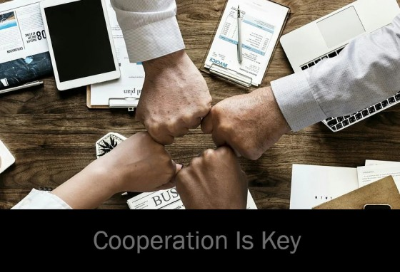 Cooperation Is Key