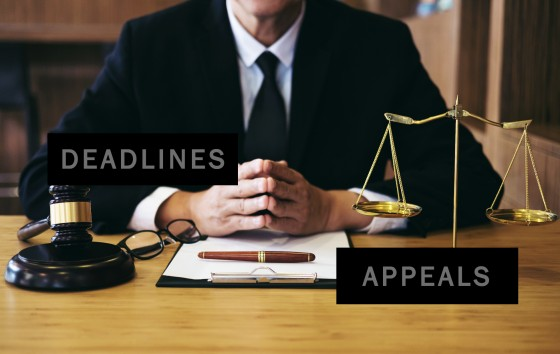 Deadlines and Appeals