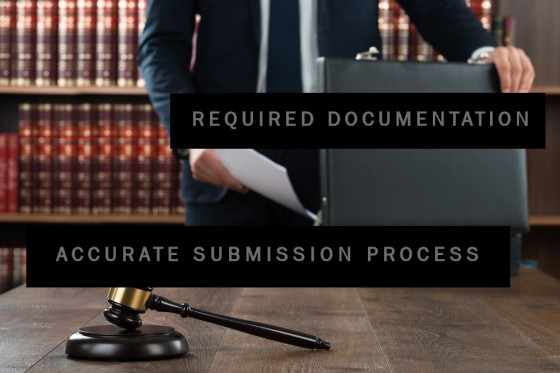 Required Documentation and Accurate Submission Process