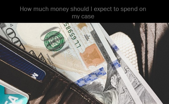 How much money should I expect to spend on my case