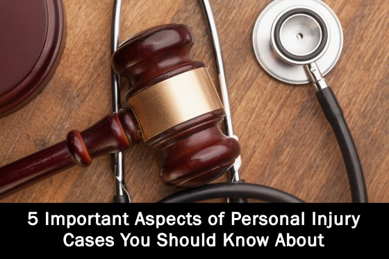 5 Important Aspects of Personal Injury Cases You Should Know About