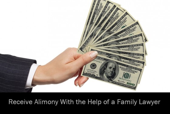 Receive Alimony With the Help of a Family Lawyer